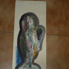 Arte: OLEO/CARTULINA -FDO NAVARRO-COMPOSICIÓN. Lote 30372709