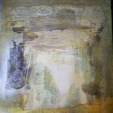 Arte: CARLOS MENDEZ-OLEO SOBRE CARTULINA. Lote 30376538