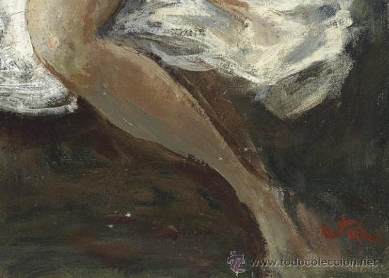 Arte: Colección de Elizabeth Taylor : Augustus Edwin John, O.M., R.A. Desnudo catalogado y firmado - Foto 4 - 30408406