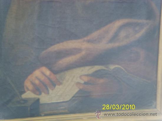 Arte: óleo sobre lienzo, Evangelista - Foto 4 - 37876712