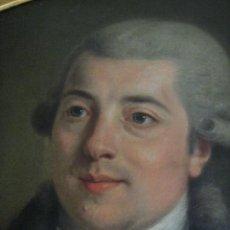 Arte: IMPRESIONANTE RETRATO DE CABALLERO,( ABATE?) FRANCES S. XVIII FINALES, OLEO SOBRE LIENZO. Lote 30735016
