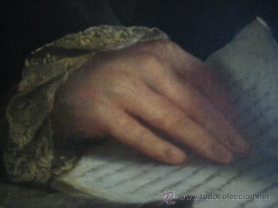Arte: Impresionante retrato de caballero,( abate?) frances S. XVIII finales, Oleo sobre lienzo - Foto 7 - 30735016