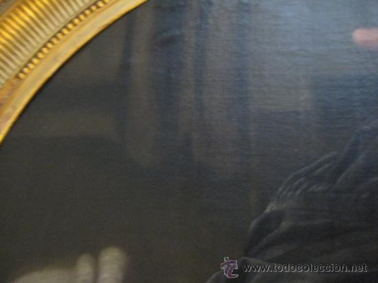 Arte: Impresionante retrato de caballero,( abate?) frances S. XVIII finales, Oleo sobre lienzo - Foto 10 - 30735016