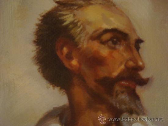 Arte: PINTURA AL OLEO, DON QUIJOTE DE LA MANCHA, CERVANTES,RICARDO BALACA.OBRA UNICA Y EXCLUSIVA - Foto 6 - 27870832