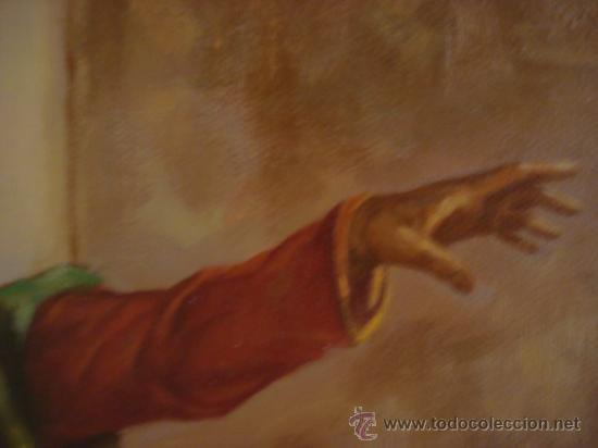 Arte: PINTURA AL OLEO, DON QUIJOTE DE LA MANCHA, CERVANTES,RICARDO BALACA.OBRA UNICA Y EXCLUSIVA - Foto 4 - 27870832