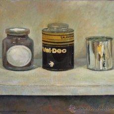 Arte: 'VAL DEC 2002' ÓLEO SOBRE LIENZO. DOMINGO CORREA. REALISMO.. Lote 30857416