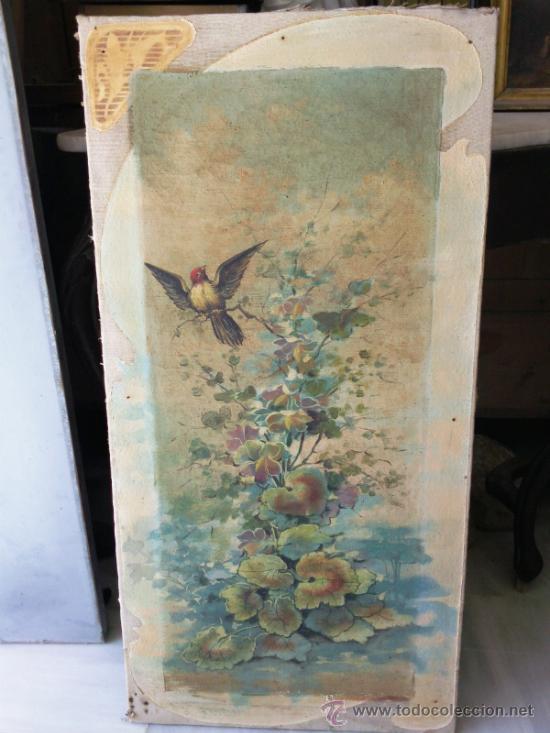 CUADRO OLEO LIENZO FINALES DEL XIX (Arte - Pintura - Pintura al Óleo Moderna siglo XIX)