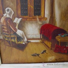 Arte: PINTURA AL ÓLEO HOLANDÉS FIRMADO. Lote 30898915