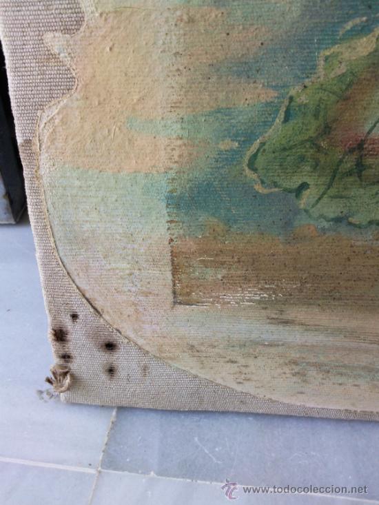 Arte: Cuadro oleo lienzo finales del XIX - Foto 4 - 30897922