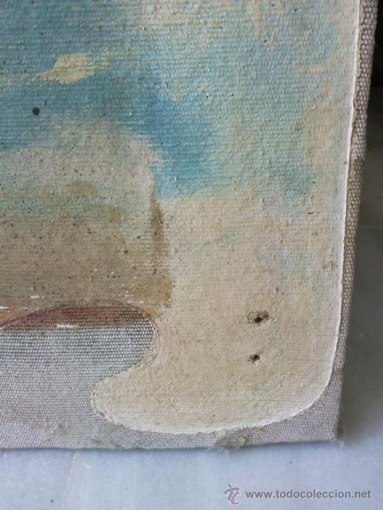 Arte: Cuadro oleo lienzo finales del XIX - Foto 2 - 30897922