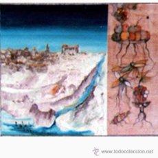 Arte: SANTIAGO GALLARDO, ROSENDO DE (C. REAL 1936-2013). - TOLEDO - OLEO SOBRE TABLERO. FIRMADO.. Lote 31059776