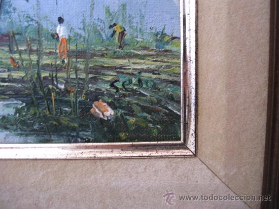 Arte: pintura contemporanea, oleo sobre lienzo, firmado (enmarcado, 39,5x48cm aprox) - Foto 4 - 31072207