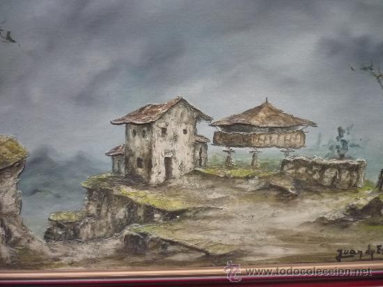 Paisaje asturiano por juan de espa a asturias comprar - Pintores en asturias ...