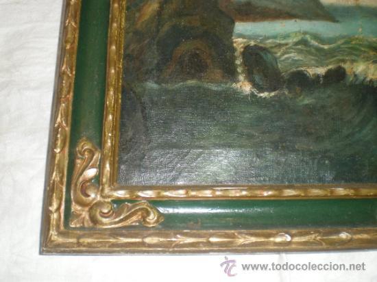 Arte: cuadro pintura al oleo marina - Foto 4 - 31408516