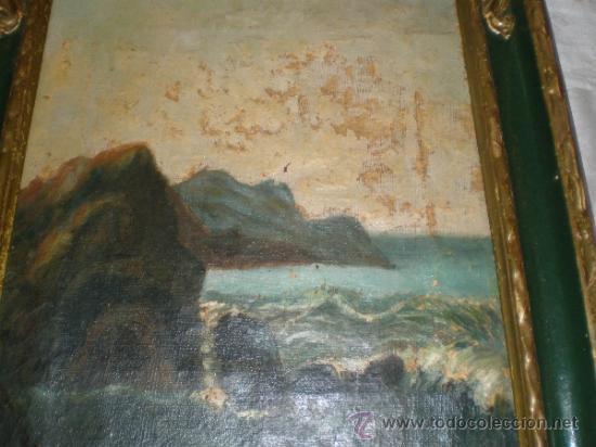 Arte: cuadro pintura al oleo marina - Foto 2 - 31408516