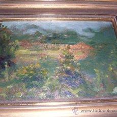 Arte: OLEO PAISAJE DE FELIX MESTRES BORRELL S.XIX- S. XX- ENMARCADO PINTADO SOBRE TABLA 21,5X16 CM. . Lote 31498257