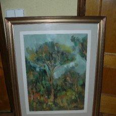 Arte: OLEO/CARTÓN-FDO GENERÓ-PAISAJE. Lote 31558381