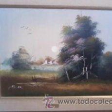 Arte: BONITO OLEO DE SOLER. PAISAJE .FIRMADO SOLER.. Lote 31614175