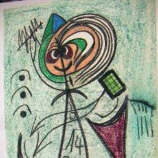 Arte: PINTURA A LA CERA DE WOLFANG REITER. Lote 31645239