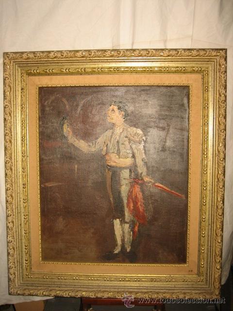 TORERO (Arte - Pintura - Pintura al Óleo Moderna sin fecha definida)