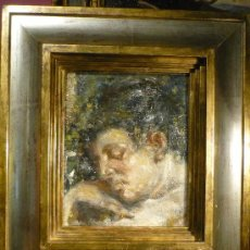 Kunst - FRANCESC GIMENO ARASA (1857-1927). RETRATO. OLEO SOBRE TELA. FIRMADO. CIRCA 1915-1918. - 31854367