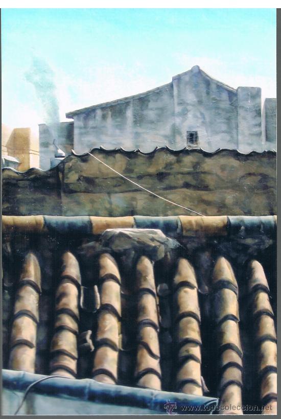 pintura oleo juan crossa bejar .vista de tejado - Comprar Pintura al ...