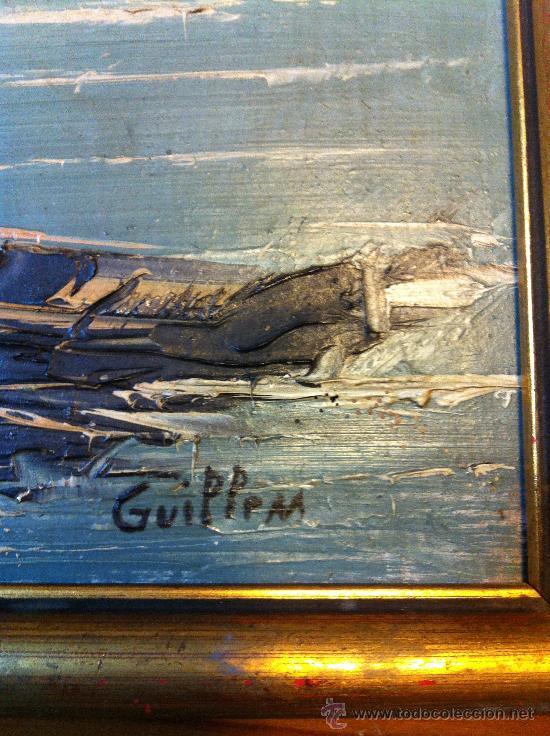 Arte: oleo sobre tabla firmado Guillem - Foto 3 - 32067134