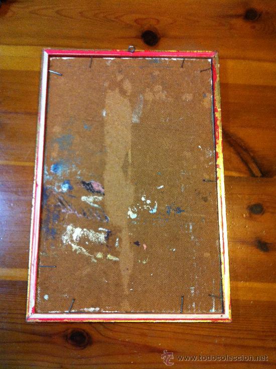 Arte: oleo sobre tabla firmado Guillem - Foto 4 - 32067134