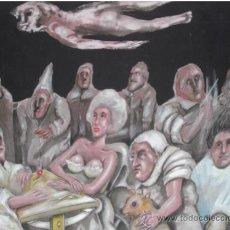 Arte: PINTURA ACRILICO SOBRE LIENZO DEL PINTOR VENEZOLANO ROBERTO GONZALEZ. Lote 32929172