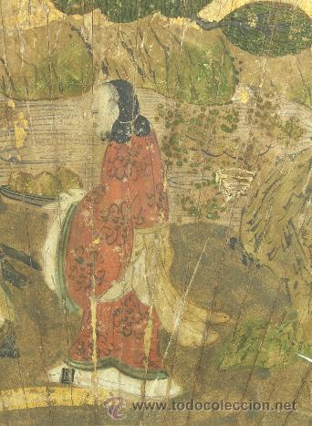Arte: Magistral pintura japonesa del siglo XVI, calidad de museo, SENMENZU - Foto 2 - 32367920