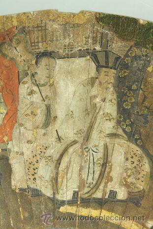 MAGISTRAL PINTURA JAPONESA DEL SIGLO XVI, CALIDAD DE MUSEO, SENMENZU (Arte - Pintura - Pintura al Óleo Antigua siglo XVI)