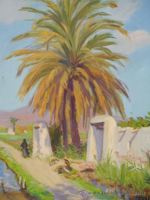 Pintura al oleo firmada del pintor valenciano f vendido - Pintor valenciano ...
