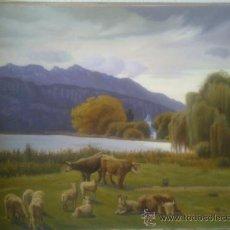 Arte: PAISAJE DE GALOFRE SURIS 1964.. Lote 32435606