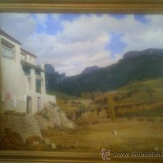 Arte: PAISAJE DE LA MUSARA DE GALOFRE SURIS 1966. Lote 32441953