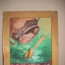Arte: OLEO DEL PINTOR VALENCIANO ARECAS. Lote 32569495