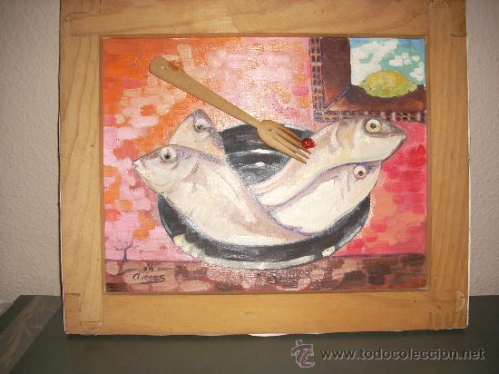 OLEO DEL PINTOR VALENCIANO ARECAS (Arte - Pintura Directa del Autor)