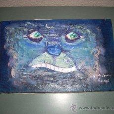 Arte: OLEO DEL PINTOR VALENCIANO ARECAS 1991 TITULO - IRA. Lote 32579765