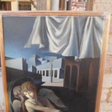 Arte: SOBERBIO ACRILICO SOBRE TABLA DEL PINTOR PACO CONESA. 1,56 X 1,15 M. EXCEPCIONAL OBRA. Lote 32592648