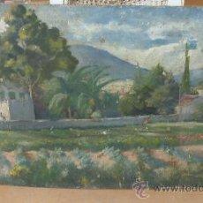 Arte: ANONIMO. OLEO SOBRE TABLA DE AÑOS 40. ESCUELA CATALANA. . Lote 32617753