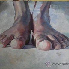 Arte: ANIMIC OLEO SOBRE TELA. Lote 32643940
