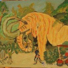 Arte: BARCELONA, EL MAMUT DEL PARQUE DE LA CIUDADELA DE CRESPO. Lote 32845084