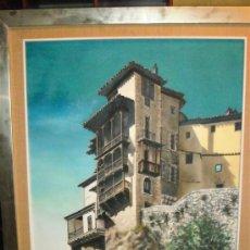 Arte: ÓLEO CASAS COLGADAS DE CUENCA. Lote 32936455