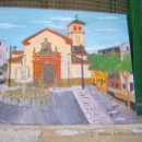 Arte: EJIDO ,IGLESIA DE SAN ISIDRO , 35X45 CM. ÓLEO SOBRE TABLA DE CRESPO. Lote 33255851