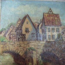 Arte: OLEO SOBRE TABLEX-ANONIMO. Lote 33319299