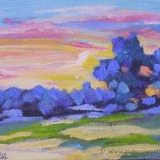 Arte - PAISAJE AL OLEO - 33380365