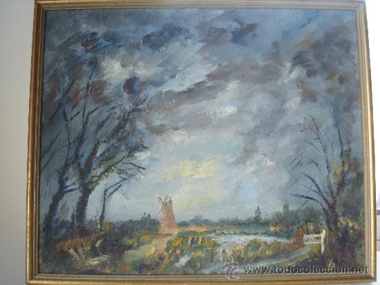 CUADRO IMPRESIONISTA SOBRE TABLET (Arte - Pintura - Pintura al Óleo Contemporánea )