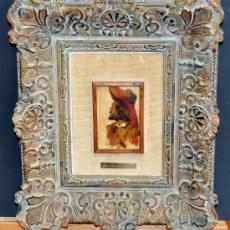 Arte: FELIX MESTRES BORREL (BARCELONA, 1872 - 1933) OLEO SOBRE TABLA. MOSQUETERO. Lote 50417633