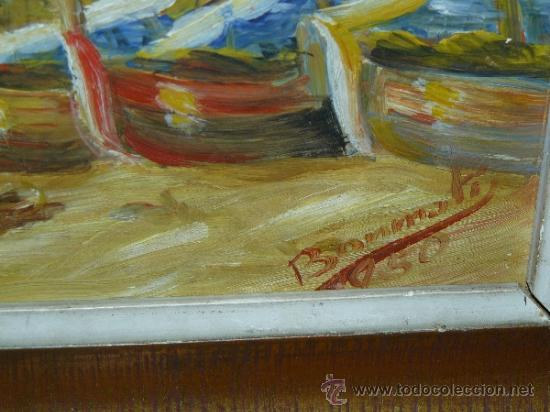 Arte: OLEO / TABLEX - FIRMADO BONMATÍ - MARINA - Foto 5 - 39305287