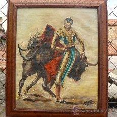 Arte: OLEO / TELA- FIRMADO GÓMEZ -PASE DE ESPALDA. Lote 33825501
