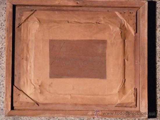 Arte: magnifico óleo sobre tablex de Estanislao Vilajosana. (Manresa 1913-1991) - Foto 3 - 33812989